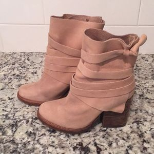 light tan colored 'free people' boot
